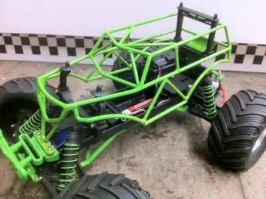vgracing roll cage city photo gallery traxxas grave digger tra3602a grave digger. Black Bedroom Furniture Sets. Home Design Ideas